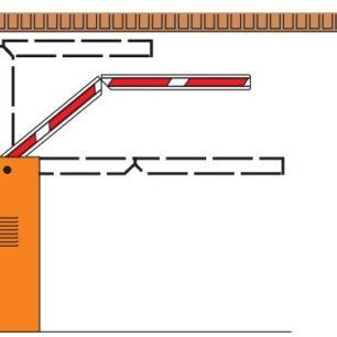 KIT BRAZO ARTICULADO Kit de brazo articulado para barrera de estacionamiento modelo 615-620 apertura de 90°