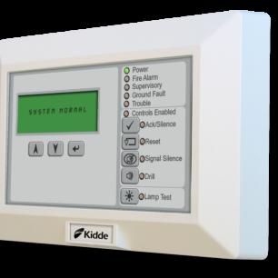 RLCD-C-S PAnunciador LCD de 80 caracteres, indicadores comunes de sistema y controles, beige,