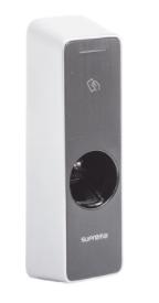 BEW2ODP BioEntry W2 Lector de Huella Multiformato Antivandálico IK09 permite 500,000 Usuarios con detección de Dedo Vivo / IP67 / NFC