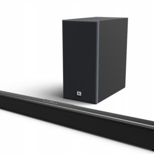 JBLSB160BLKEP  JBL SB160 Soundbar 2.1 5.25 Wireless Sub 220W BT