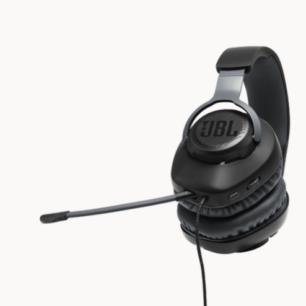 JBLQUANTUM100BLKAM  JBL Headphones Quantum Q100 Gaming Detachable Mic Black S.Am