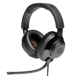 JBLQUANTUM300BLKAM  JBL Headphones Quantum Q300 Gaming Quantumsurround 7.1 S.Ame