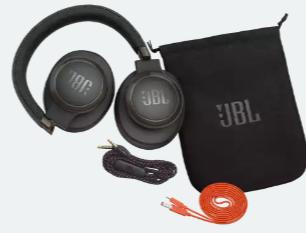 JBLLIVE650BTNCBAM  JBL Headphone Live 650BT NC On-Ear Wireless Black S.Ame