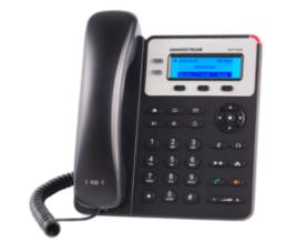 GXP-1625 Teléfono IP SMB de 2 Líneas con 3 teclas de función programables y conferencia de 3 vías. PoE