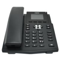 X3SP-V2 Teléfono IP empresarial para 4 líneas SIP con pantalla LCD de 2.8 pulgadas a color, Opus y conferencia de 3 vías, PoE.