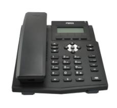 X1SP Teléfono IP empresarial para 2 lineas SIP con pantalla LCD, Códec Opus, conferencia de 3 vías, PoE.