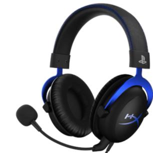 HX-HSCLS-BL/AM Hyperx Cloud Gaming Headset-Blue for PS4