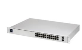 USW-PRO-24 UniFi Switch Capa 3 de 24 puertos Gigabit RJ-45 + 2 puertos 1/10G SFP+