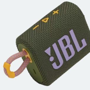 JBLGO3GRNAM JBL Speaker Go3 Speaker Bluetooth – Green
