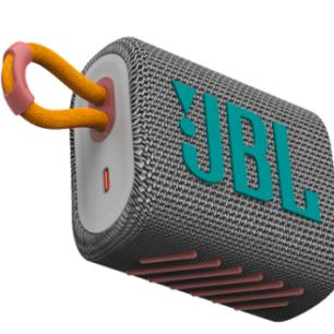 JBLGO3GRYAM JBL Speaker Go3 Speaker Bluetooth – Grey