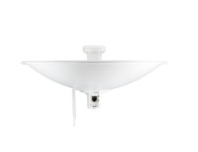 PBE-M5-300 PowerBeam airMAX M5, hasta 150 Mbps, frecuencia 5 GHz (5170-5875 MHz) con antena tipo plato de 22 dBi