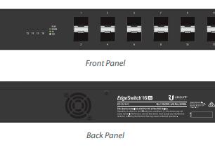 ES-16-XG Switch Core EdgeMAX Administrable 12 puertos SFP+, 4 Puertos 10G