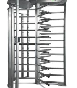 ALC FULL SECURITY  Torniquete piso a techo mueble en acero inoxidable, diseño de alta confiabiliadad para uso exterior incluye : Tarjeta de control y fuente de alimentación