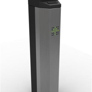 ALC PEDESTAL Pedestal fabricado en acero INOX 304 tapa en ACR.