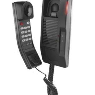 H2S Teléfono IP profesional para Hotelería / Montaje en pared / Teclado numérico estándar / PoE