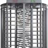 ALC FULL SECURITY  Torniquete piso a techo doble mueble en acero inoxidable, diseño de alta confiabiliadad para uso exterior incluye : Tarjeta de control y fuente de alimentación
