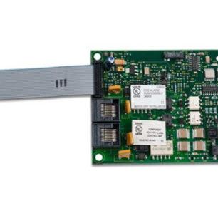 SA-DACT Modulo discador telefonico 2 conexiones de línea de telefono, RJ31 Serie VS y FX